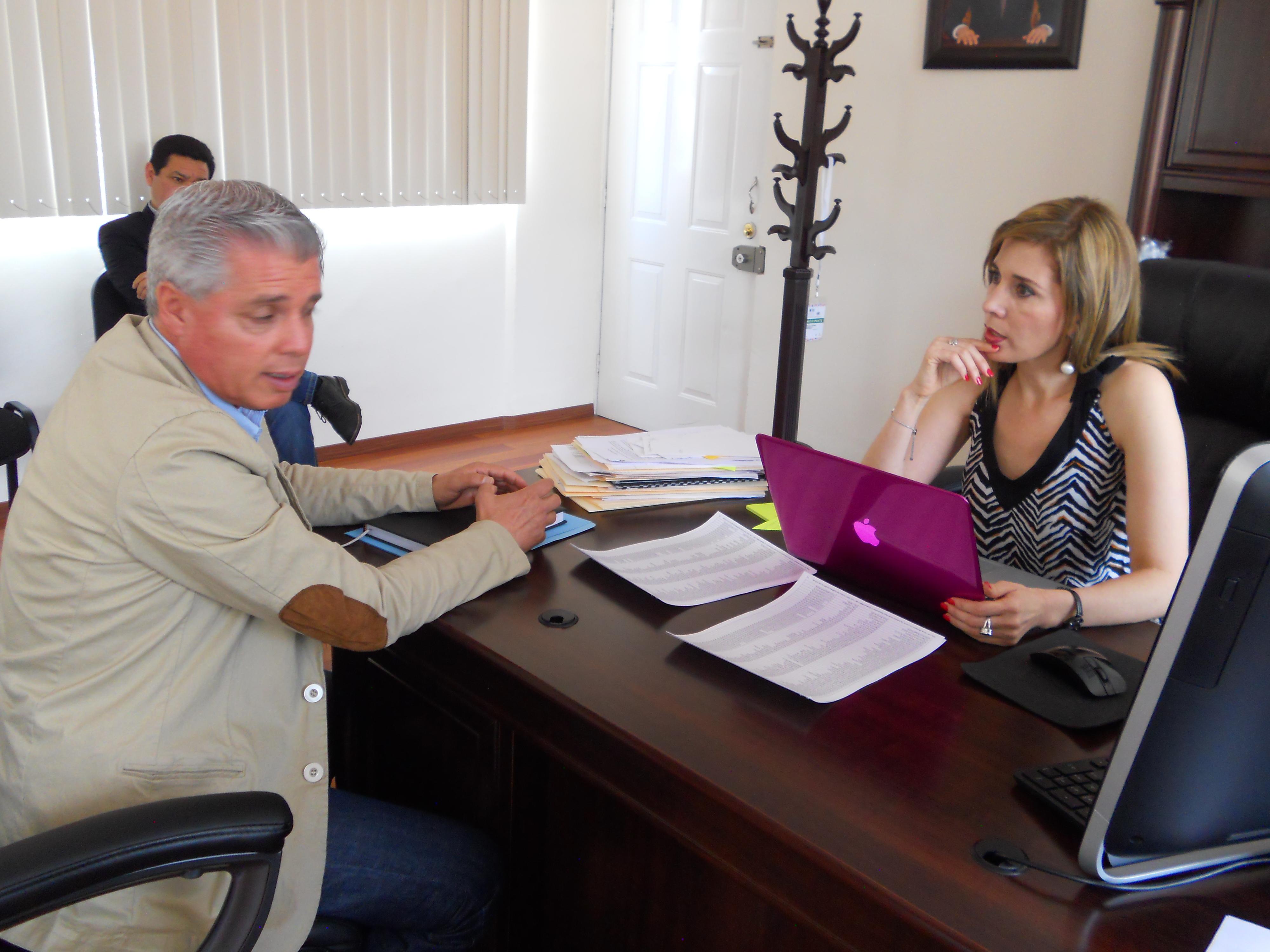 Trabajamos de la mano con el alcalde de Sahuayo, Rodrigo Sánchez Zepeda.