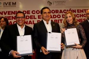 Firma de Convenio IVEM-Fonhapo